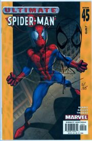 Ultimate Spider-man #45 Signed Art Thibert Remarked Sketch COA Ltd 25 Jay Company Originals